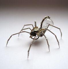 Mechanical Spider No 48 (I) by AMechanicalMind.deviantart.com on @deviantART