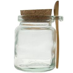 Couronne Co | Honey Packaging Jars | Jar w/ Wooden Spoon