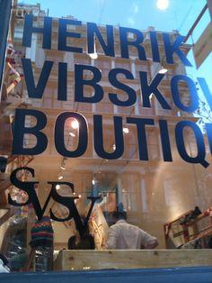 SVSV at Henrik Vibskov Boutique