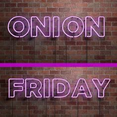 Light up your weekend! Make it BRIGHT and FLAVORFUL! #onionsmakethemeal #usaonions #eatbrighter #weekendadventure #FridayFun