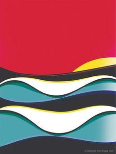 Waves - Tom Veiga Surfart