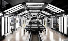 Audi A8 assembly | Flickr by Sjoerd ten kate