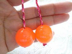 Begleri Orange Begleri Begleri worry beads by OneOfferJewelry