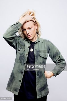 News Photo : Actress Erika Linder, from the film Below Her...