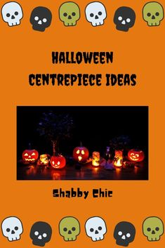 Add a seasonal centrepiece to your dining room table this fall for halloween. Here are some shabby chic Halloween centrepiece ideas. Centrepiece Ideas, Diy Centerpieces, Shabby Chic Halloween, Dining Room Table, Halloween Costumes, Dining Table, Halloween Costumes Uk, Halloween Outfits