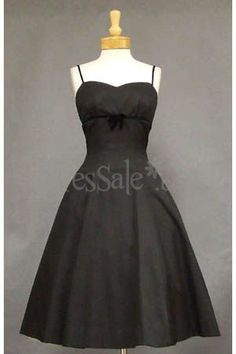 Classic Little Black Evening Dress