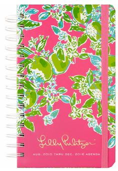 Love this Lilly Pulitzer planner for 2016
