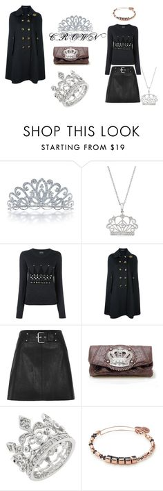 """""""Crown"""" by sparklingpearl619 ❤ liked on Polyvore featuring Bling Jewelry, Bloomingdale's, Markus Lupfer, Dolce&Gabbana and Alex and Ani"""