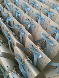 Christening favors Available from our Facebook page