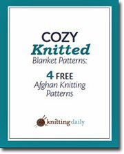 Download Now Get cozy under a knitted afghan! You'll love these free knitted blanket patterns! Yggdrasil Afghan by Lisa JacobsFrost Flower Afghan by the Knits Design TeamGraphic Afghan by Sarah FamaMosaic Tile Afghan by Judith L. Swartz Download Now