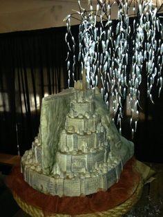 Minas Tirith Cake LOTR