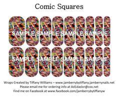 Comic Squares NAS