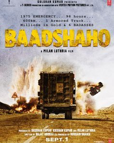 1975 Emergency... 96 hours... 600km... 1 Armored Truck... Millions in Gold & 6 Badasses. Here's the first look BAADSHAHO. Directed by Milan Luthria.  #Baadshaho #AjayDevgn #MilanLuthria #EmraanHashmi #poster #movieposter #firstlook #movie #film #celebrity #bollywood #bollywoodmovie #actor #actress #star #instalike #instacomment #instafollow #filmywave