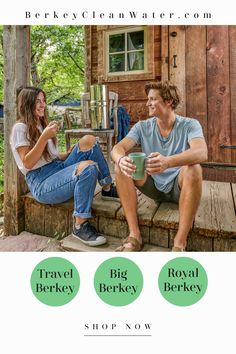 "Berkey® Water Filters are in stock!  Get them now while you can.  The Big Berkey® water purification system is the most popular but you can also get the Royal or the Travel.  Click on ""shop now"" to get yours today! Water Filters, Water Purification, Family Love, Popular, Couple Photos, Big, Health, Shop, Salud"