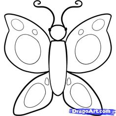 how to draw a butterfly for kids step 5