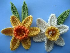 Daffodil pattern by Lucy of Attic24