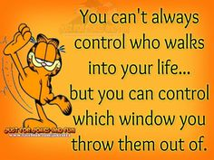 Garfield's advice......