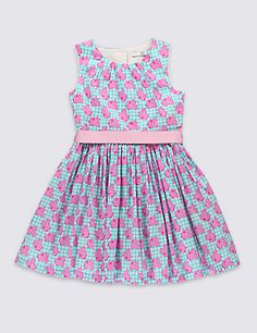 Buy the Pure Cotton Peppa Pig™ Prom Dress with Belt Years) from Marks and Spencer's range. Peppa Pig Dress, Prom Dresses, Summer Dresses, Must Haves, Rompers, Belt, Popular, 2nd Birthday, Cotton