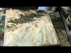 ▶ Painting With Palette Knife Part 1 By Millie Gift Smith - YouTube