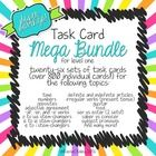 Spanish 1 Task Card Bundle - 26 sets