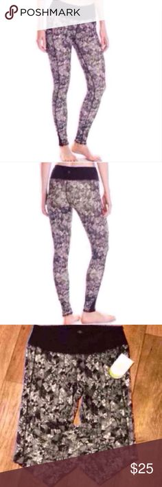 Gaiam Print Curve Leggings Flattering, comfy, and fun new yoga/workout leggings. Breathable, moisture-wicking, 4-way stretch, and super stylish, you'll feel great in these new pants from Gaiam. Retails for $78. Priced to sell. Gaiam Pants Leggings