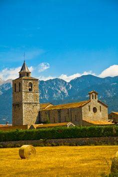 TALLO DE CERDANYA CHURCH (Carved from Cerdanya Church) in Lleida, Catalonia