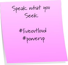 #newyou, #powerup, #liveoutloud