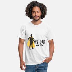 Vater Männer T-Shirt Sweat Shirt, T Shirt Sport, Vintage Logo, T Shirt Vintage, T Shirt Baseball, Baseball Mom, Halloween Costume Zombie, Kelly Green, Bebe T Shirt