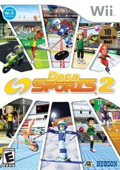 nice Deca Sports 2 - Nintendo Wii  Deca Sports, the hit sports compilation game is back with exciting multi-sport competition across 10 new sporting events in Deca Sports 2. With its ea... http://gameclone.com.au/games/deca-sports-2-nintendo-wii/