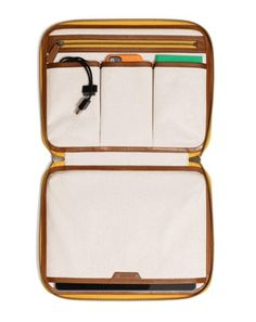 Coach Bleecker Leather Tablet Organizer - Unluckily the colors suck. Nice layout.
