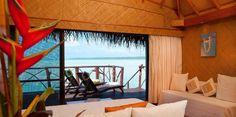 Cook islands overwater bungalow