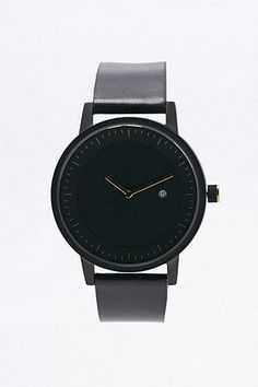 "Simple Watch Co. – Uhr ""Dixon"" in Schwarz und Gold - Urban Outfitters"