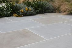 Pennant Sandstone is one of our newest products. With a subtle mixture of buff a… – Living Garden – patio Backyard Garden Design, Small Garden Design, Patio Design, Backyard Patio, Backyard Landscaping, Landscaping Design, Outdoor Paving, Garden Paving, Outdoor Flooring