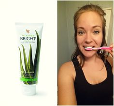 Just looove this toothgel! Made of 100% organic Aloe vera, without fluoride. Give your teeth the right treatment! Remember; You can use this on your cats and dogs too. :)  90-day satisfaction guarantee!  Webshop: www.myaloevera.no/sandrahennie