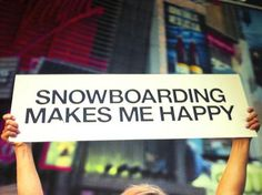 Yep - snowboarding can turn you into a fairytale dwarf so your head gets missed off pictures///