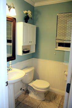bead board bathrooms - colour