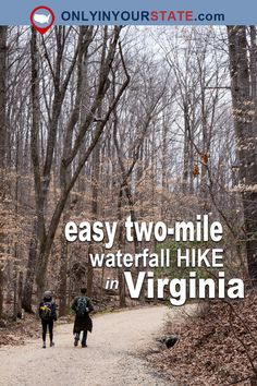 The Gorgeous Waterfall Hike In Virginia That Anyone Can Do – Travel Virginia Vacation, Hiking In Virginia, West Virginia, Floyd Virginia, Luray Virginia, Richmond Virginia, Virginia Beach, Oh The Places You'll Go, Places To Travel