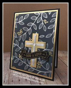 SU Hold on to Hope Emboss Resist | Cindy Lee Bee Designs