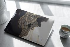 Ad: MacBook Skin Mock-Up by Dikarte Media on Very easy to edit mock-up. It contains everything you need to create a realistic look of your project. Good look for bright and dark Macbook Air 13 Cover, Apple Laptop Macbook, Macbook Skin, Mock Up, Macbook Pro Tips, Case Presentation, Laptop Design, Macbook Stickers, Graphic Design Trends