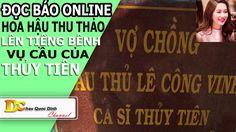 Đọc báo Online - Hoa hậu Thu Thảo bênh vụ Cây cầu của Thủy Tiên Công Vin...