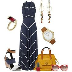 LOLO Moda: Dresses - Love everything except the shoes. I would break my neck in those things.