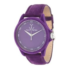 Purple Suede Watch