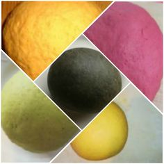 Colored Pasta, Make Your Own Pasta, Pizza, Tortellini, Ravioli, Dumplings, Finger Food, Food And Drink, Peach