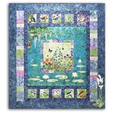 Bella Garden All at Once Quilt Kit