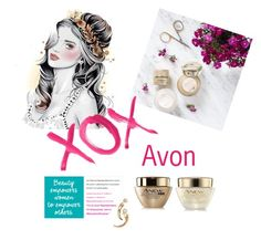 """Avon"" by lcheatwood2000 ❤ liked on Polyvore featuring beauty and GALA"