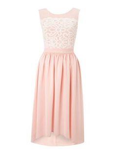 Almari Almari lace top dress Light Pink - House of Fraser