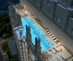 Houston's Most Tricked-Out Luxury Tower: New 40-Story High-Rise to be a Grown-Up Playland — Death-Defying Pool Included