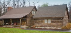 Old Kentucky Logs, concrete logs put on like siding...love it