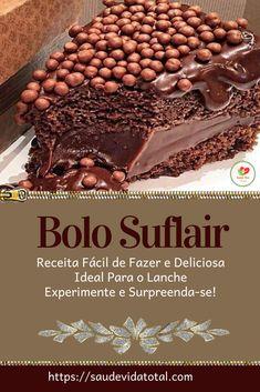 My Recipes, Cake Recipes, Favorite Recipes, Tasty, Yummy Food, Chocolate Desserts, Bolo Chocolate, Culinary Arts, Food Truck