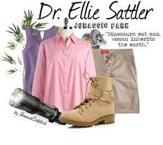"""Sattler - Jurassic Park"" by unusualsidekick on Polyvore"